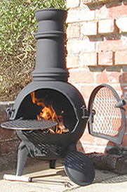 Buy The Small Palma Cast Iron Chiminea Online Largest